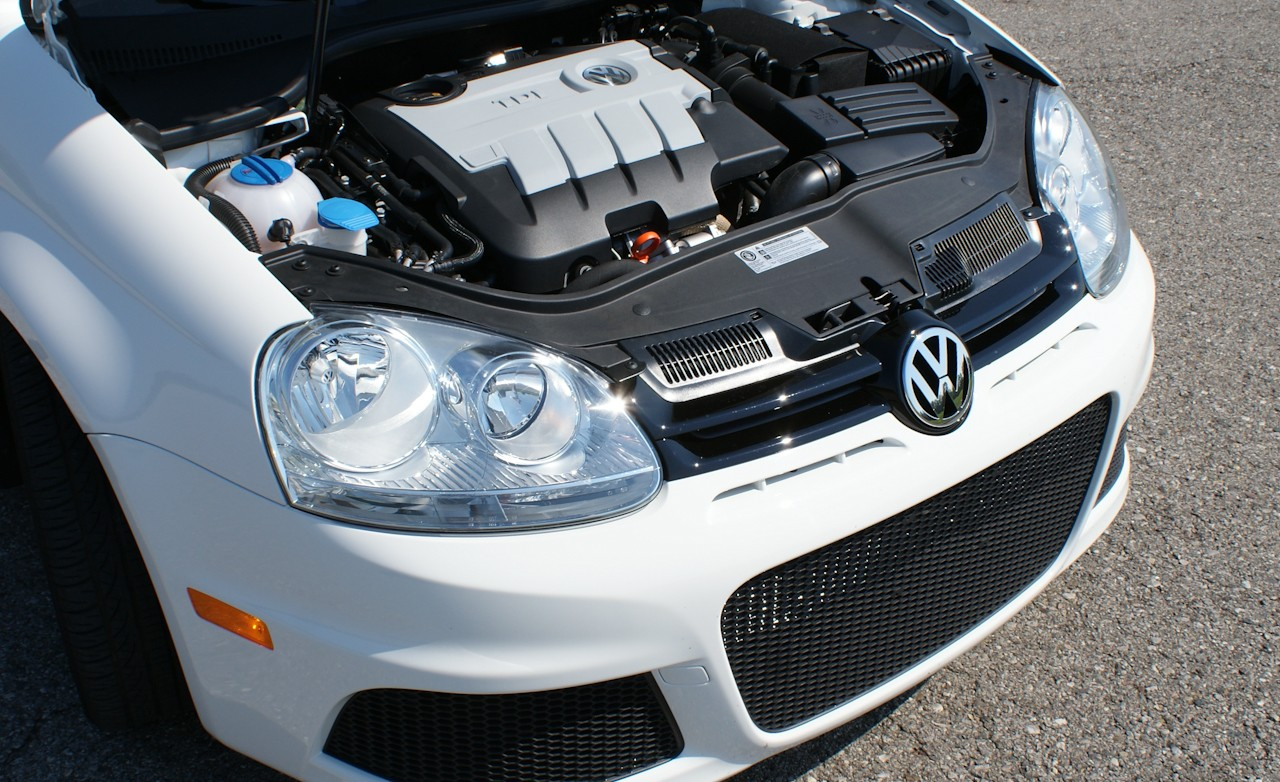 2010 Volkswagen Jetta TDI Cup Edition Car Engine