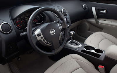 2011 Nissan Rogue Car Interior