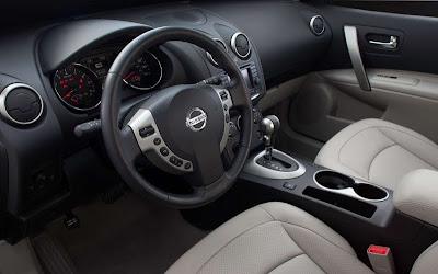 2011 Nissan Rogue Car Interior