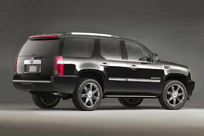 2011 Cadillac Escalade Rear Side Angle View