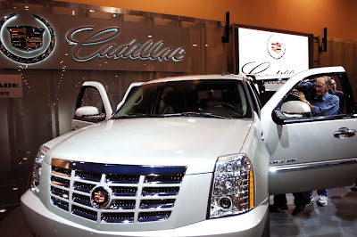 2011 Cadillac Escalade Launch
