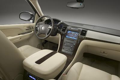 2011 Cadillac Escalade Car Interior