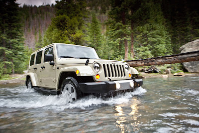 2011 Jeep Wrangler Off Road Car