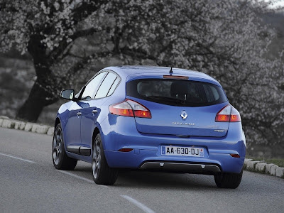 2011 Renault Megane GT Rear Angle View