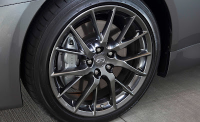 2011 Infiniti IPL G Coupe Wheel