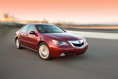2010 Acura RL Front Angle View