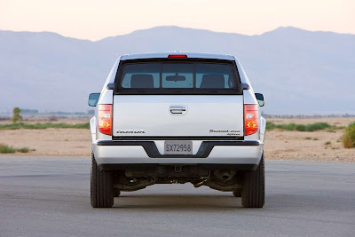 2011 Honda Ridgeline Rear View