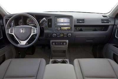 2011 Honda Ridgeline Car Interior