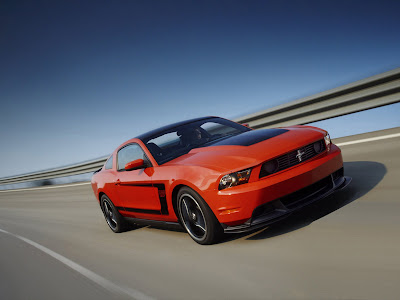 2012 Ford Mustang Boss 302 Official Photos