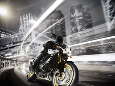 2011 Yamaha FZ8 Official Pictures