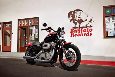 2011 Harley-Davidson XL 1200N Nightster Motorcycle