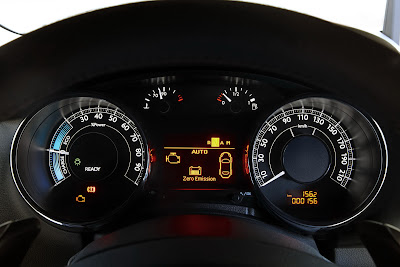 2012 Peugeot 3008 HYbrid4 Clauster Gauge View
