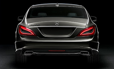 2012 Mercedes-Benz CLS Rear View