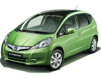 2011 Honda Jazz Hybrid Official Pictures