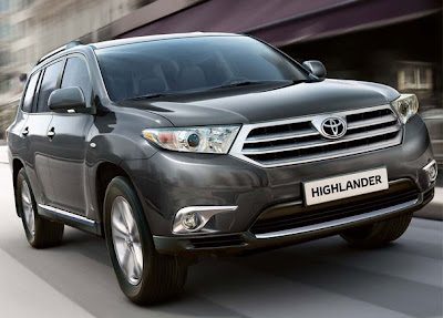 2011 Toyota Highlander Luxury Car