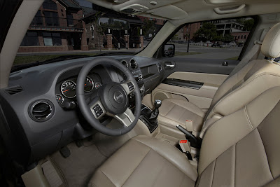 2011 Jeep Patriot Interior View