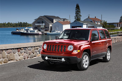 2011 Jeep Patriot Official Photos