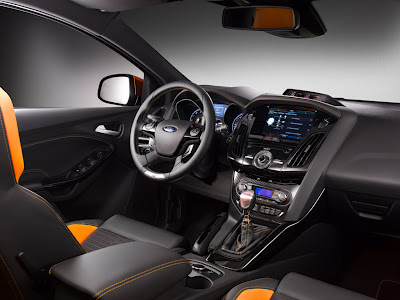 2012 Ford Focus ST Car Interior