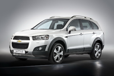 2011 Chevrolet Captiva Official Photos