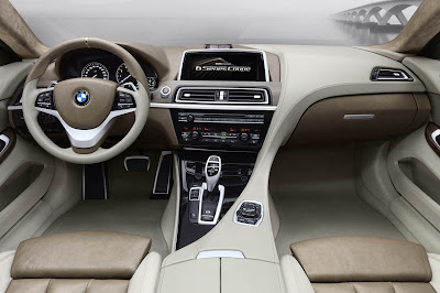 BMW Concept 6 Series Coupe Interior