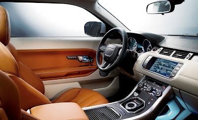 2012 Land Rover Range Rover Evoque Car Interior