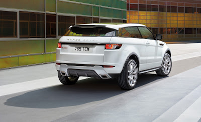 2012 Land Rover Range Rover Evoque Rear View