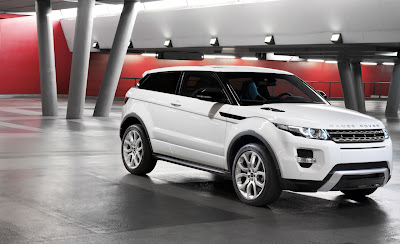2012 Land Rover Range Rover Evoque Official Images