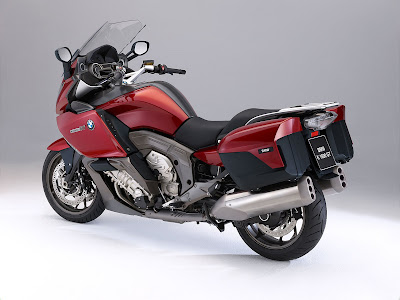 2011 BMW K1600GT Rear Angle View