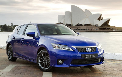 2011 Lexus CT 200h F Sport Photos