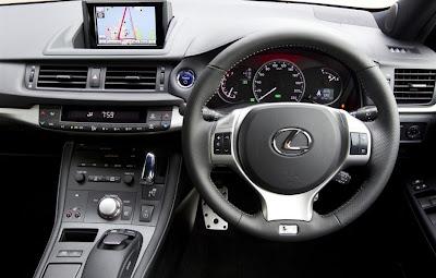2011 Lexus CT 200h F Sport Interior