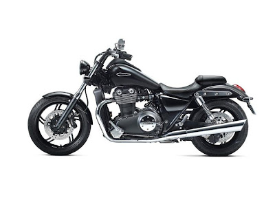 2011 Triumph Thunderbird Storm Side View