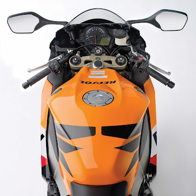 2011 Honda CBR1000RR Dashboard