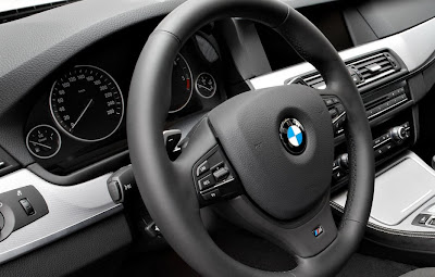 2011 BMW 5-Series M Sport Steering Wheel
