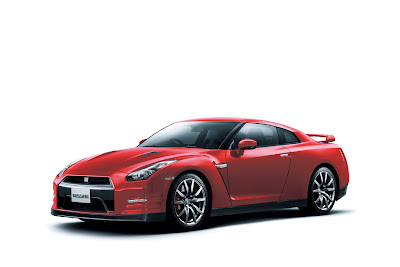 2011 Nissan GT-R Red Color