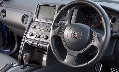 2011 Nissan GT-R Interior View