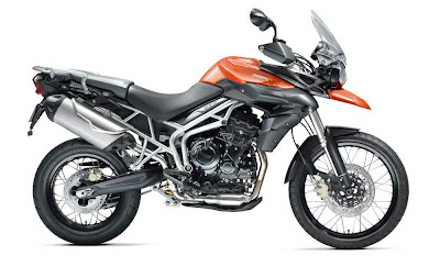 2011 Triumph Tiger 800XC Official Photos