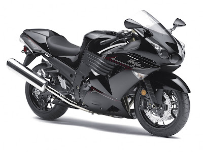 2011 Kawasaki Ninja ZX-14 Supersport Bike