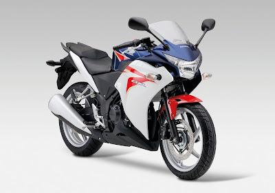 2011 Honda CBR250R Tricolor