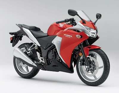 Honda CBR250R  Action
