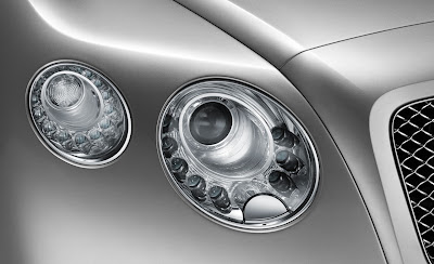 2012 Bentley Continental GT Headlight