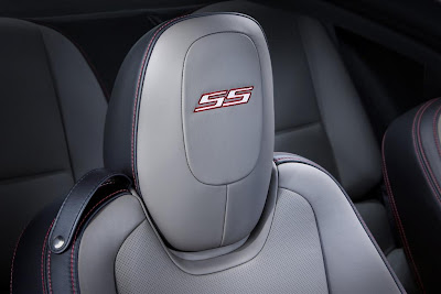 2011 Chevrolet Camaro Synergy Series Seats