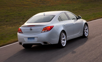 2012 Buick Regal GS Rear View