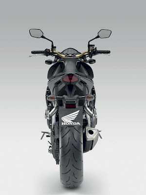 2011 Honda CB1000R Rear View