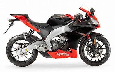 2011 Aprilia RS4 125 Motorcycle