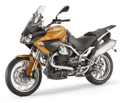 2011 Moto Guzzi Stelvio 1200 Front Side View