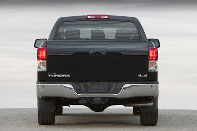 2011 Toyota Tundra Rear View