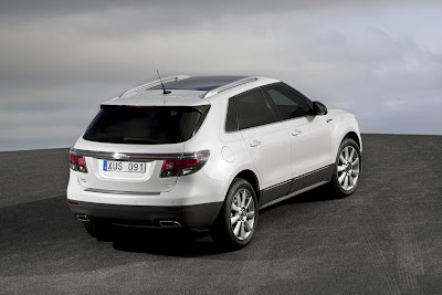 2012 Saab 9-4X Rear Angle View