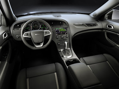 2012 Saab 9-4X Interior View