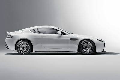 2011 Aston Martin Vantage GT4 Side View