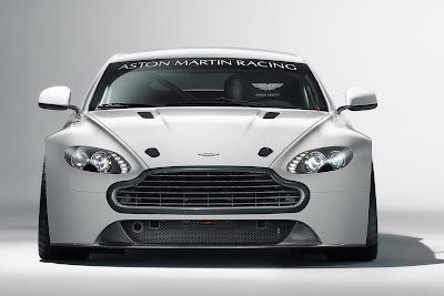2011 Aston Martin Vantage GT4 Front View